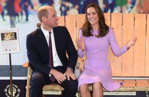 Kate Middleton : Sublime dans une robe recyclée et hilare au côté de William