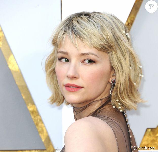 Haley Bennett - Arrivées - 90ème cérémonie des Oscars 2018 au théâtre Dolby à Los Angeles, le 4 mars 2018. © Future-Image via ZUMA Press/Bestimage