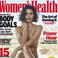 Jenna Dewan pose nue pour le magazine Women's Health, juillet 2018.