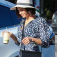 Exclusif - Jenna Dewan quiite le magasin Switch à Los Angeles le 8 septembre 2018.