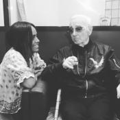 """Amel Bent dévastée par la mort de Charles Aznavour: """"C'était mon père spirituel"""""""