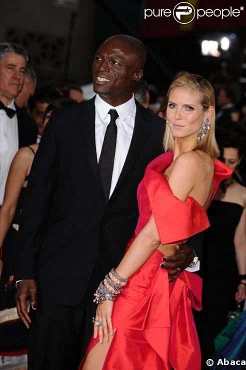 Heidi Klum et Seal à la série des Oscars en février 2009