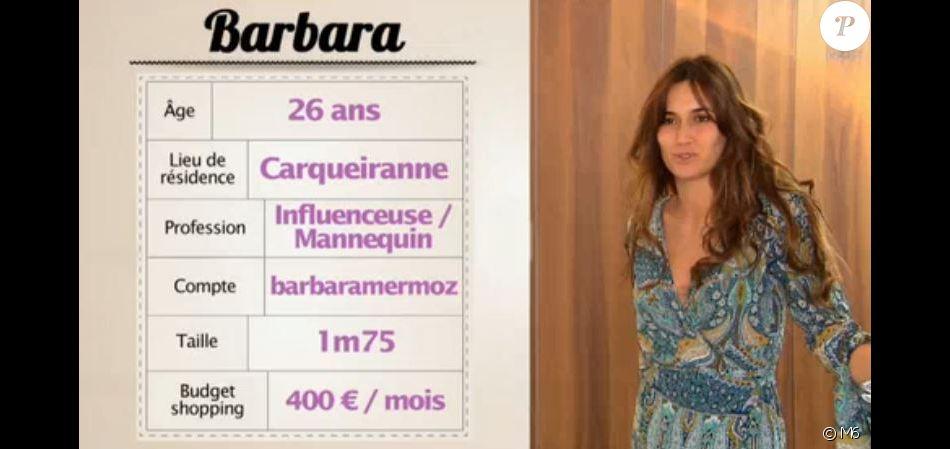 "Barbara dans ""Les Reines du shopping"", M6, lundi 8 octobre 2018"