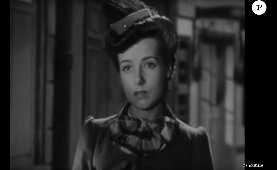 "Christiane Tarride (Sertilange) dans ""Le silence est d'or"" (1947)"