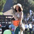 Jenna Dewan et sa fille Everly Tatum se rendent à une fête privée pour Halloween à Los Angeles, le 27 octobre 2018