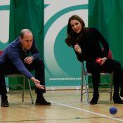 """Kate Middleton et le prince William : Complices pour une partie de """"boccia"""""""