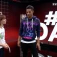 Terence Telle et Fauve Hautot dans DALS 9, le 3 novembre 2018 sur TF1.