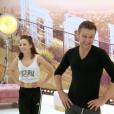 Jeanfi Janssens et Marie Denigot, le 3 novembre 2018 sur TF1.
