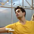 """Héloïse Martin et Christophe Licata dans """"Danse avec les stars 9"""", le 3 novembre 2018."""