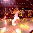 """Iris Mittenaere et Anthony Colette dans """"Danse avec les stars 9"""" sur TF1, le 3 novembre 2018."""