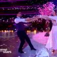 """Héloïse Martin et Christophe Licata dans """"Danse avec les stars 9"""" sur TF1, le 3 novembre 2018."""