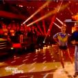 """Jeanfi Janssens et Marie Denigot dans """"Danse avec les stars 9"""" sur TF1, le 3 novembre 2018."""