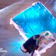 """Pamela Anderson et Maxime Dereymez dans """"Danse avec les stars 9"""" sur TF1, le 3 novembre 2018."""