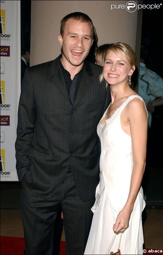 Heath Ledger et Naomi Watts