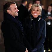 Brigitte Macron : Complice auprès d'Emmanuel, dans son manteau fétiche