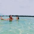 Camille Gottlieb lors de ses vacances avec son ami Hugo à l'île Maurice fin octobre - début novembre 2018, photo issue de son compte Instagram.