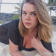 Camille Gottlieb lors de ses vacances à l'île Maurice fin octobre - début novembre 2018, photo issue de son compte Instagram.