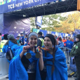 Photo Instagram de Teri Hatcher le 4 novembre 2018 avec sa fille Emerson Tenney à l'arrivée du marathon de New York, qu'elles ont couru au profit de l'association Save the Children.