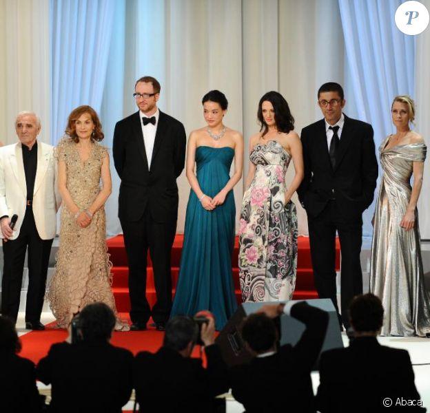 Les membres du jury du 62e Festival de Cannes lors de la cérémonie d'ouverture, le 13 mai 2009 !