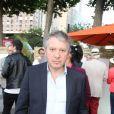 Thierry Rey lors du 5e trophée de la pétanque gastronomique à Paris, le 29 juin 2017, soirée organisée au Paris Yacht Marina sur les quais de Seine. © Philippe Baldini