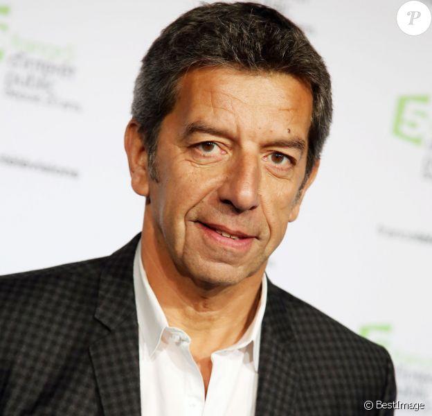 Michel Cymes - Soirée du 20e anniversaire de France 5 à la Cité de la mode et du design à Paris, le 27 novembre 2014.