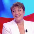 """Marie Christine dans """"Tout le monde veut prendre sa place"""" sur France 2. Le 9 novembre 2018. Elle a battu le record mondial de longévité dans un jeu télévisé."""