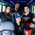 Eva Longoria, Zoe Saldana,America Ferrara,Gina Rodriguez - E. Longoria et une dizaine d'actrices ont participé dimanche à un rassemblement à Kissimmee, en Floride, où elles ont encouragé la foule à voter pour les candidats démocrates aux élections de mi-mandat aux E.U le 4 novembre 2018