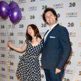 Eric Antoine et sa femme Calista au photocall de France Télévisions, pour la présentation de la nouvelle dynamique 2016-2017, à Paris, le 29 juin 2016. © Guirec Coadic/Bestimage