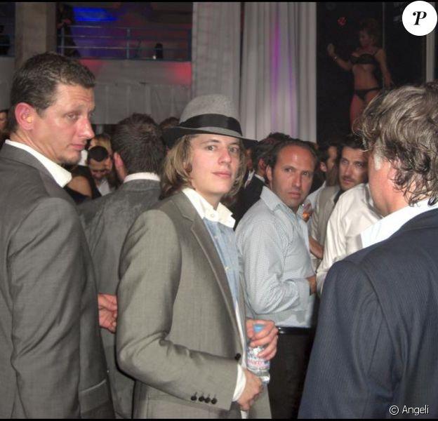 Pierre Sarkozy à la soirée Bob Sinclar au VIP à Cannes