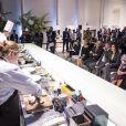 Le prince Frederik et la princesse Mary de Danemark ont assisté à un événement gastronomique nordique et italien lors d'une visite économique et culturelle à Rome, Italie, le 7 novembre 2018.