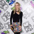 Nicky Hilton Rothschild assiste à la soirée de lancement de la collection Keith Haring x alice + olivia aux Highline Stages. New York, le 13 novembre 2018.