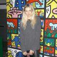 Jessica Hart assiste à la soirée de lancement de la collection Keith Haring x alice + olivia aux Highline Stages. New York, le 13 novembre 2018.
