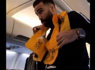 Adil Rami fait le show dans l'avion des Bleus, la vidéo décalée