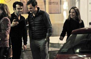 Pippa Middleton : Restaurant entre amis avec Roger Federer et sa femme