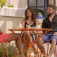"""Laetitia et Raoul ensemble lors du bilan de """"L'amour est dans le pré 2018"""" sur M6 lundi 26 novembre 2018."""