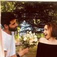 Maude et son petit ami - Instagram, juin 2018