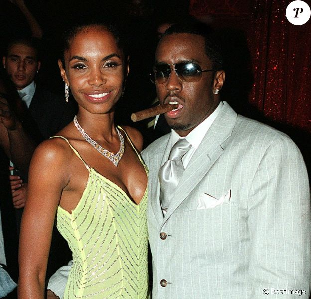 Kim Porter et P. Diddy en 2002