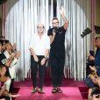 Défilé Dolce & Gabbana pendant la Fashion Week Printemps / Été 2019 homme de Milan, Italie, le 16 juin 2018.