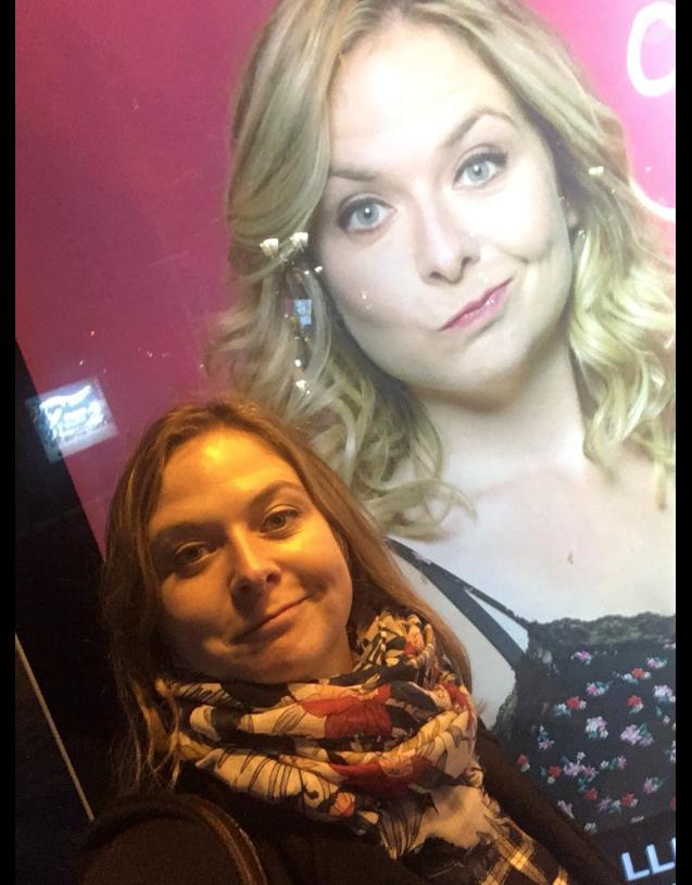 Constance sur Twitter en novembre 2018.