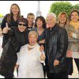 Sandrine Quétier, Lââm, Nagui, Stéphanie Fugain, Mimie Mathy, Guy Bedos, Michèle Bernier et Corinne Touzet à la Grnde Marche de Laurette Fugain