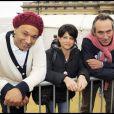 Doc Gynéco, Charlotte Valandrey et Philippe Lavil ont participé à la grande Marche contre la leucémie (et pour le Don de Soi) organisée par l'association Laurette Fugain, à Paris
