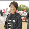 Florence Foresti a participé à la grande Marche contre la leucémie (et pour le Don de Soi) organisée par l'association Laurette Fugain, à Paris
