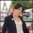 Nolwenn Leroy a participé à la grande Marche contre la leucémie (et pour le Don de Soi) organisée par l'association Laurette Fugain, à Paris