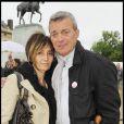 Les parents de Gregory Lemarchal ont participé à la grande Marche contre la leucémie (et pour le Don de Soi) organisée par l'association Laurette Fugain, à Paris