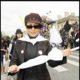 Lââm a participé à la grande Marche contre la leucémie (et pour le Don de Soi) organisée par l'association Laurette Fugain, à Paris