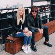 Ava Sambora et son père Richie Sambora. Juillet 2018.