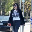 Exclusif - Amanda Bynes se promène dans les rues de Los Angeles le 24 avril 2018.