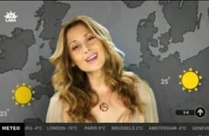 Lara Fabian : une miss météo qui fait la pluie et (surtout) le beau temps avec le clip de