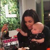 Eva Longoria : De retour au travail, Santiago émerveillé dans ses bras