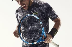 Fabio Fognini : Le tennisman montre ses muscles pour Armani, avec sa femme